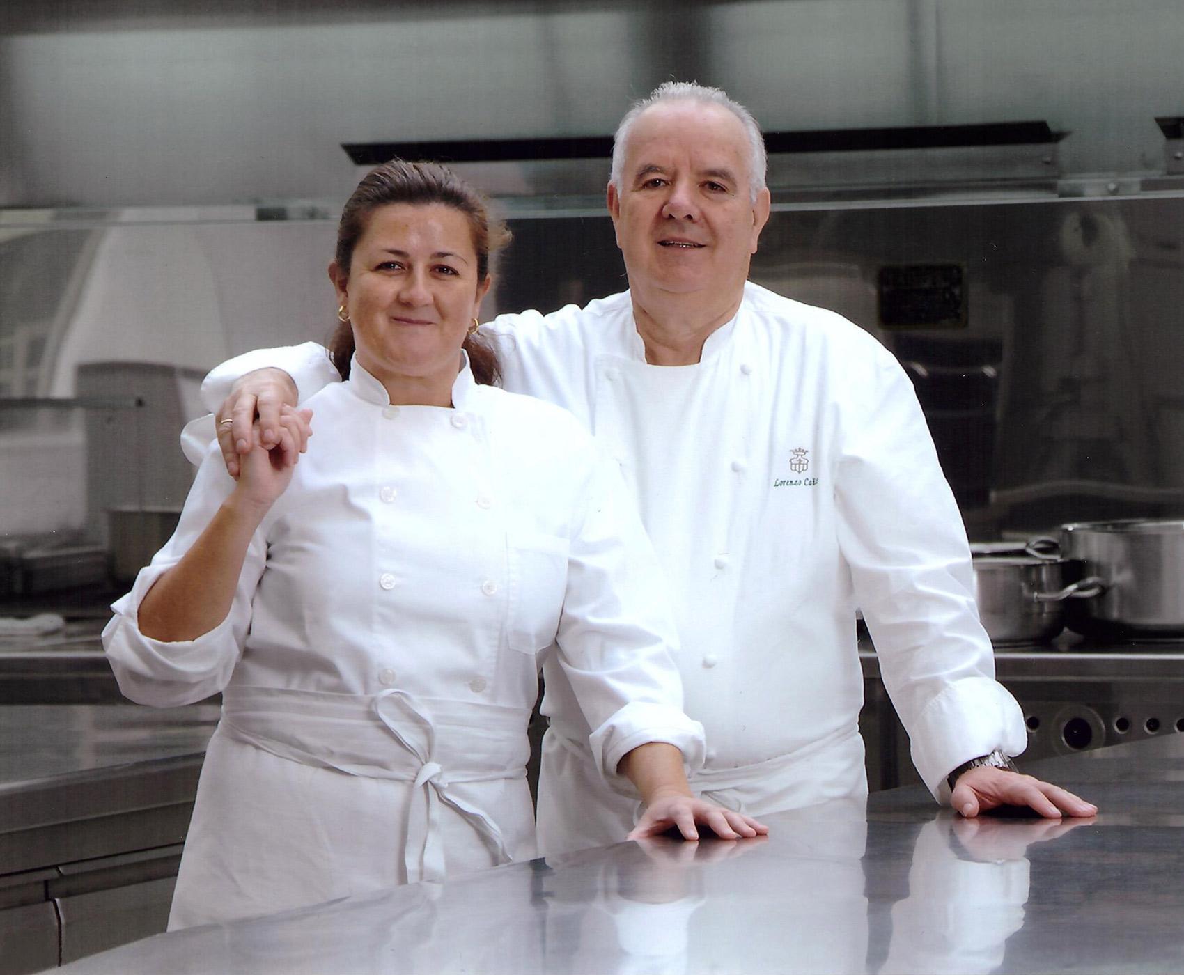 Lorenzo y Elisa Cañas