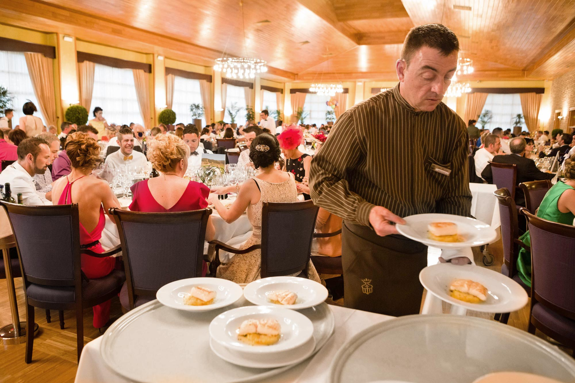 Boda top 5 - banquete
